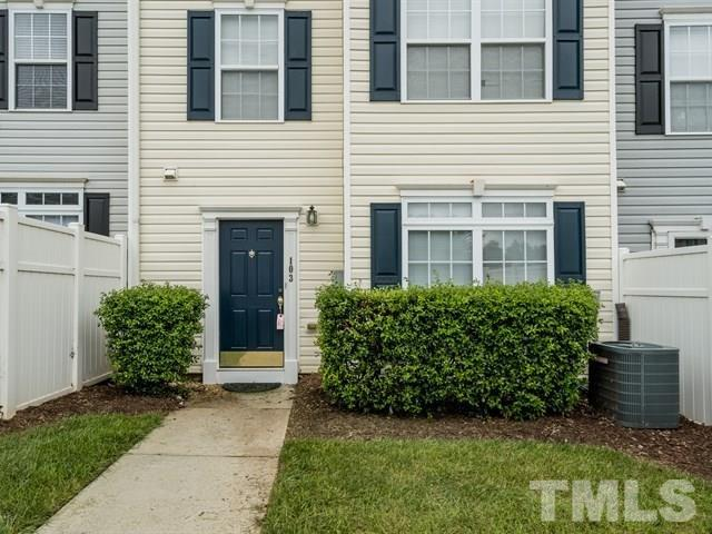 3010 Barrymore Street #103, Raleigh, NC 27603 (#2209881) :: The Jim Allen Group