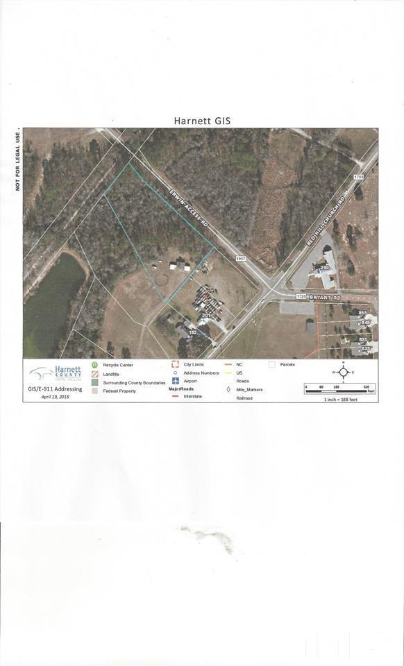 Red Hill Church Road, Erwin, NC 28339 (#2213057) :: Marti Hampton Team - Re/Max One Realty