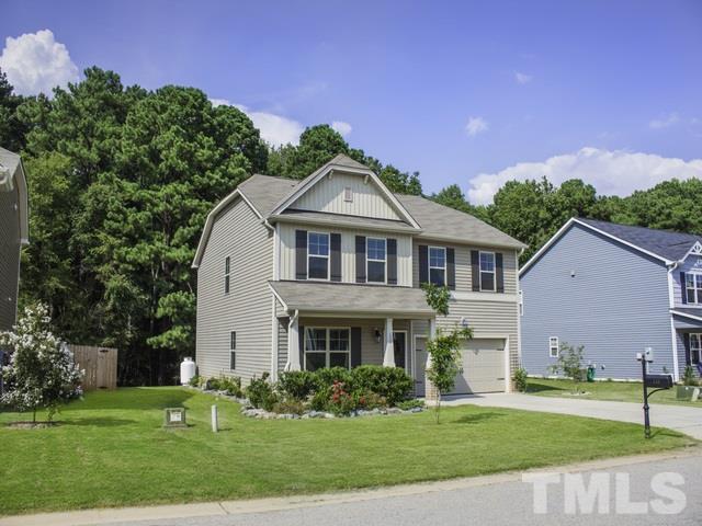 155 Ambergate Drive, Youngsville, NC 27596 (#2213104) :: Rachel Kendall Team