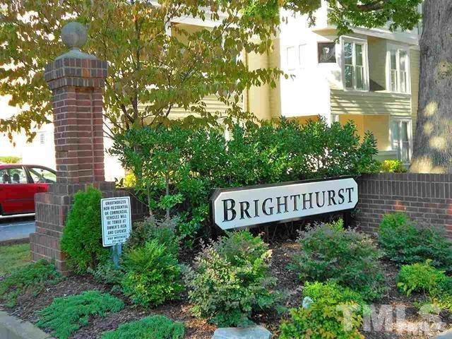 1000 Brighthurst Drive #109, Raleigh, NC 27609 (#2231131) :: RE/MAX Real Estate Service