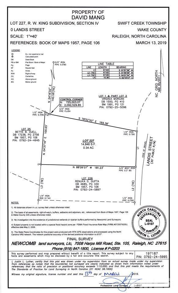 2702 Landis Street, Raleigh, NC 27603 (#2243112) :: M&J Realty Group