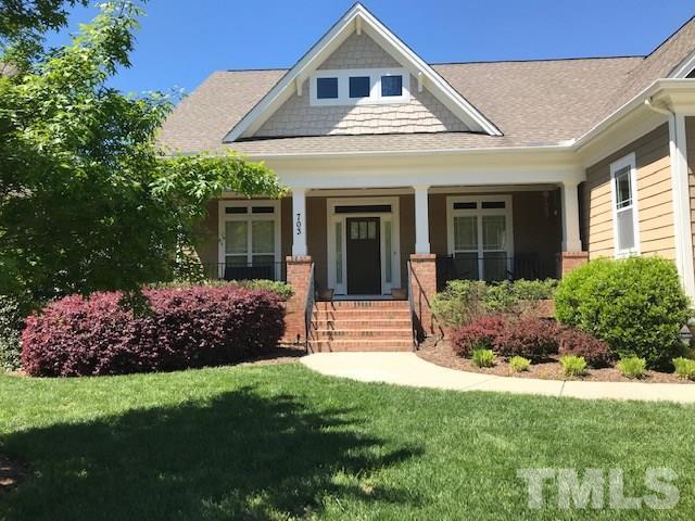 703 Toms Creek Road, Cary, NC 27519 (#2250107) :: The Jim Allen Group