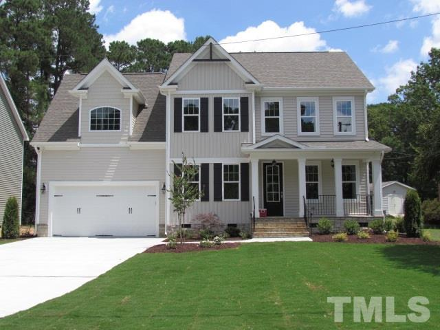 1610 Wake Drive, Wake Forest, NC 27587 (#2266441) :: The Jim Allen Group