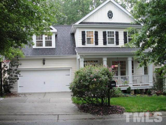 437 Marsh Landing Drive, Holly Springs, NC 27540 (#2321118) :: Triangle Top Choice Realty, LLC