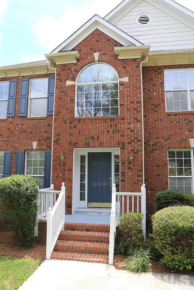 203 Hickorywood Boulevard, Cary, NC 27519 (#2329844) :: Triangle Top Choice Realty, LLC