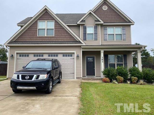 141 Braddock Drive, Lillington, NC 27546 (#2345114) :: Sara Kate Homes