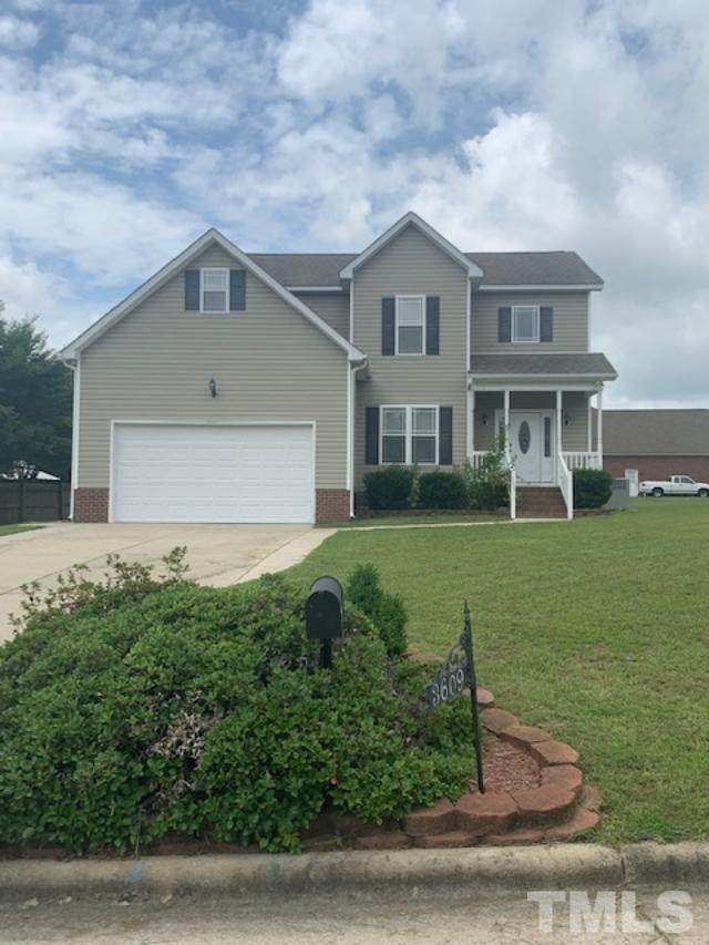 3609 Gloucester Drive, Wilson, NC 27893 (#2350145) :: Marti Hampton Team brokered by eXp Realty