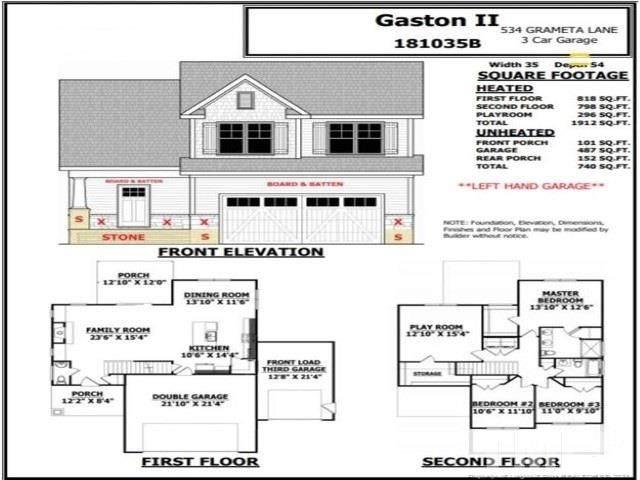 534 Grameta Lane, Lillington, NC 27546 (#2361657) :: The Jim Allen Group