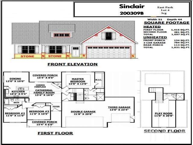 405 S Main Street, Broadway, NC 27505 (#2366607) :: Real Properties