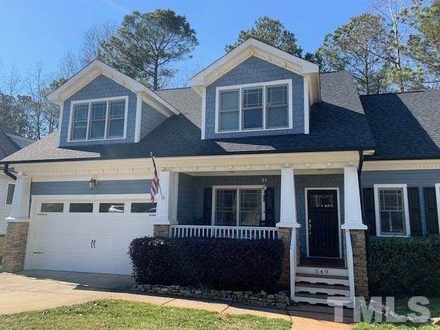 549 Lake Gaston Drive, Fuquay Varina, NC 27526 (#2368640) :: Real Properties