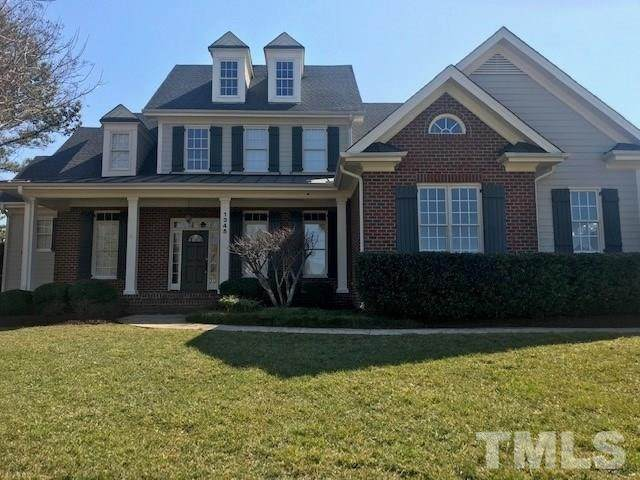1345 Colonial Club Road, Wake Forest, NC 27587 (#2368931) :: Real Properties