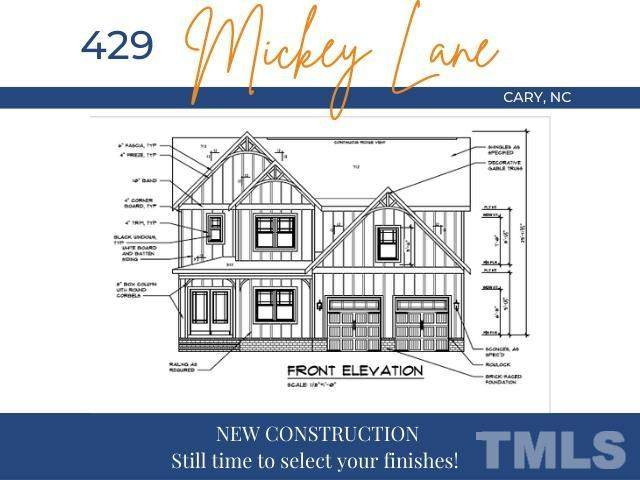 429 Mickey Lane, Cary, NC 27513 (#2381184) :: Triangle Just Listed