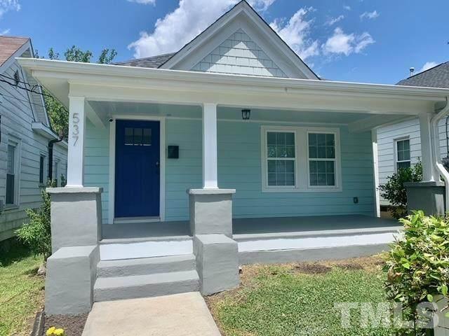 537 E Lenoir, Raleigh, NC 27601 (#2382696) :: Real Estate By Design
