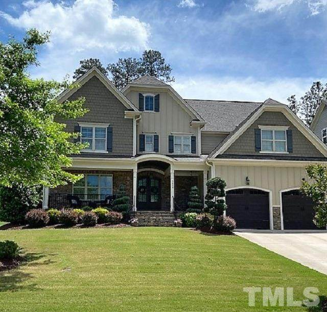 5624 Massey Branch Drive, Rolesville, NC 27571 (MLS #2383155) :: The Oceanaire Realty