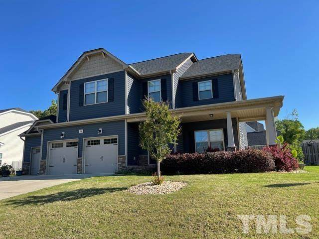 56 Foxtail Court, Clayton, NC 27520 (MLS #2383470) :: The Oceanaire Realty