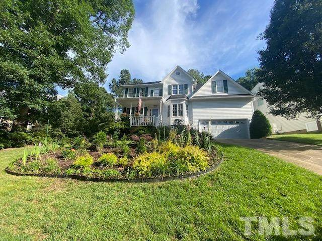 4736 Royal Troon Drive, Raleigh, NC 27604 (#2399397) :: The Jim Allen Group