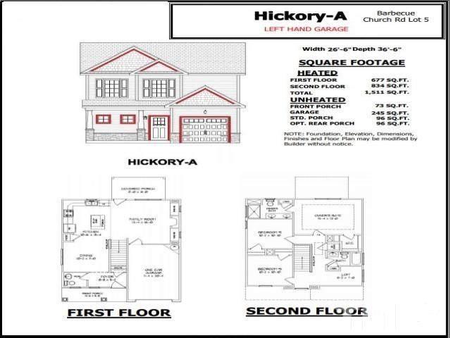 4912 Barbecue Church Road, Sanford, NC 27332 (#2399407) :: Dogwood Properties