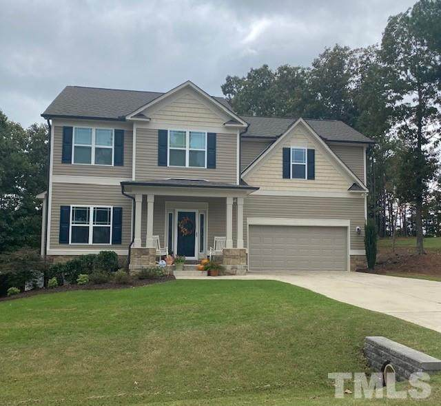 405 Timberland Drive, Angier, NC 27501 (#2412843) :: The Tammy Register Team