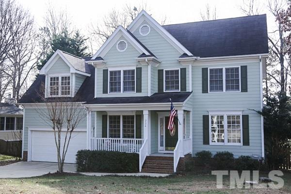 224 Dutch Hill Road, Holly Springs, NC 27540 (#2168602) :: The Jim Allen Group