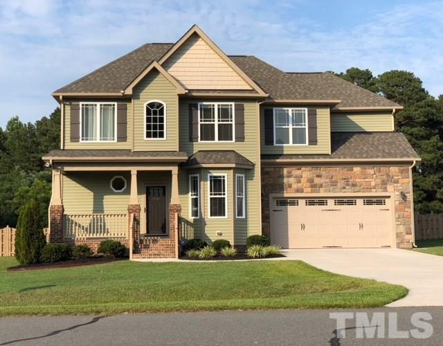 3024 Plantation Glen Drive, Zebulon, NC 27597 (#2203763) :: The Jim Allen Group