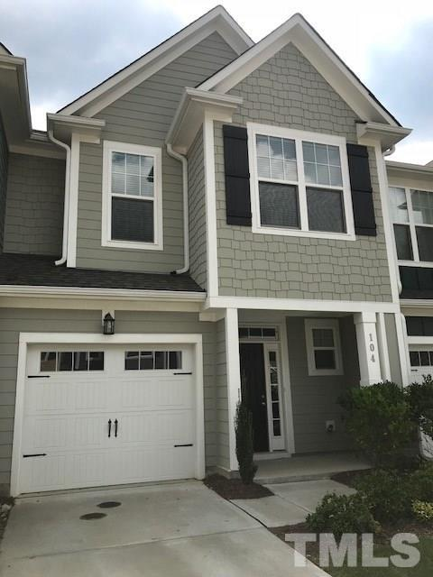 104 Hundred Oaks Lane, Holly Springs, NC 27540 (#2203775) :: The Abshure Realty Group