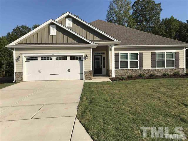 81 N Hawks Ridge Lane Lot 31, Smithfield, NC 27577 (#2314918) :: Dogwood Properties