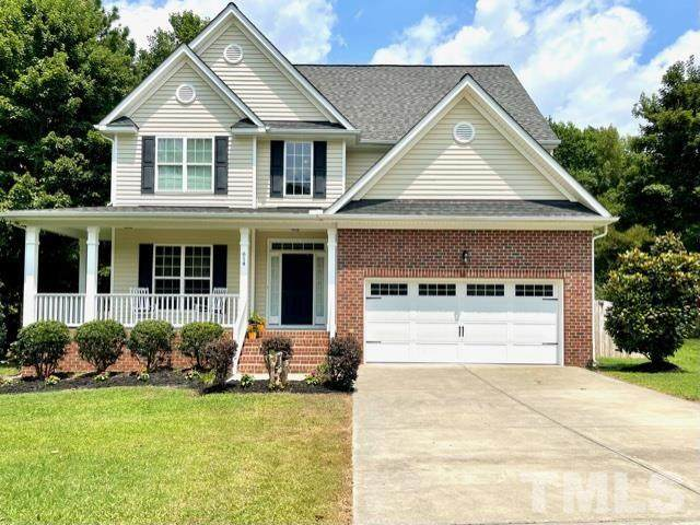 614 Misty Willow Way, Rolesville, NC 27571 (MLS #2396961) :: The Oceanaire Realty