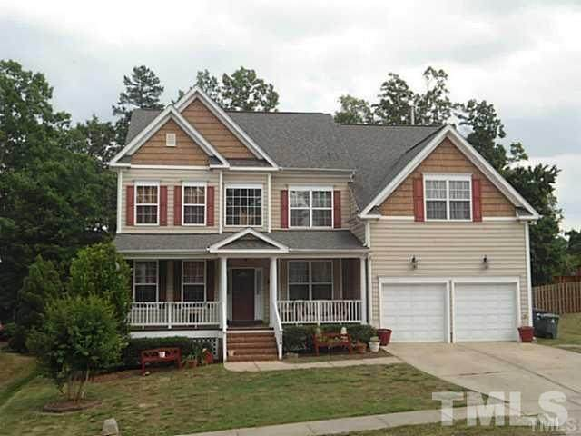 204 Muses Mill Court, Holly Springs, NC 27540 (#2401836) :: The Helbert Team