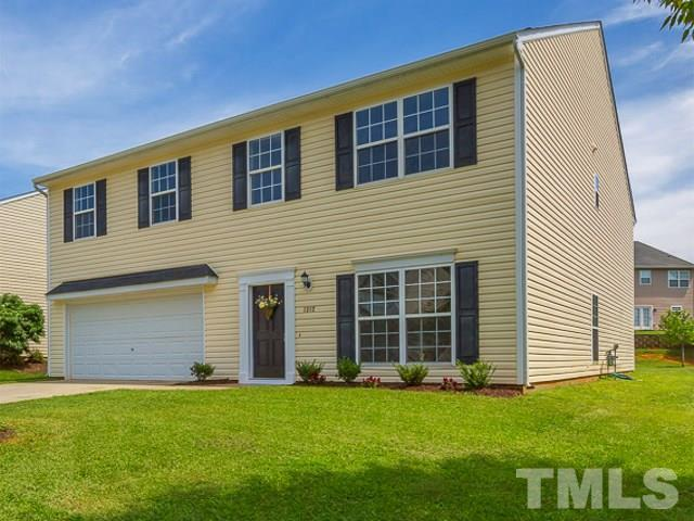 1312 Marbank Street, Wake Forest, NC 27587 (#2208863) :: The Abshure Realty Group