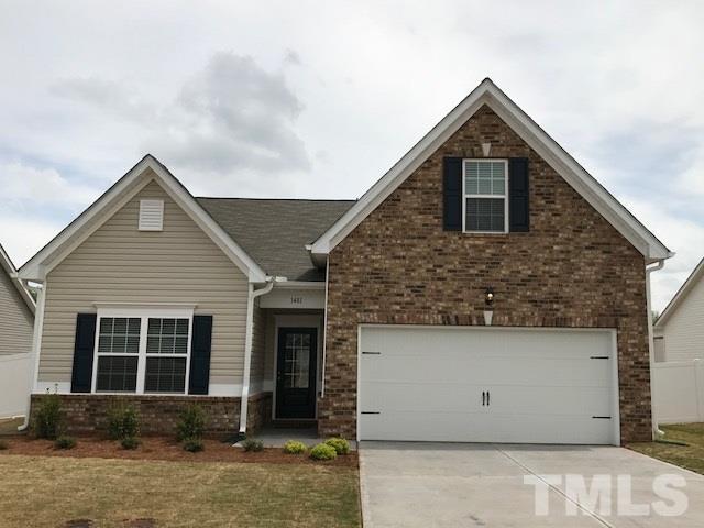 1481 Abercorn Lane Lot 38, Sanford, NC 27330 (#2167863) :: Rachel Kendall Team, LLC