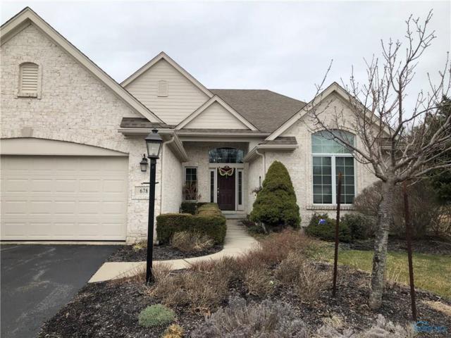 678 Ridge Lake, Perrysburg, OH 43551 (MLS #6037648) :: RE/MAX Masters