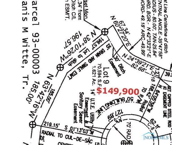 Lot 9 Witte Walk, Whitehouse, OH 43571 (MLS #6049423) :: Key Realty