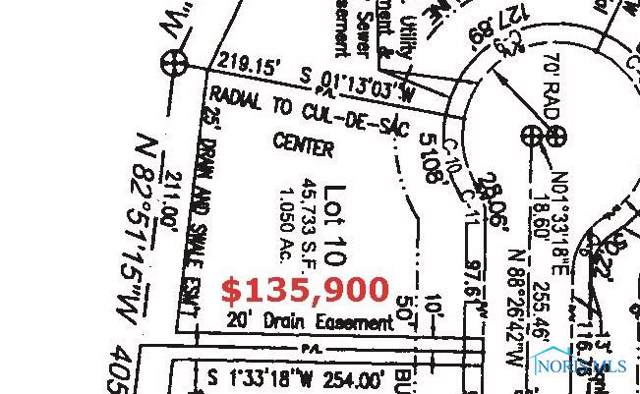Lot 10 Witte Walk, Whitehouse, OH 43571 (MLS #6049425) :: RE/MAX Masters