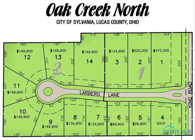 7548 Larberg Lane, Sylvania, OH 43560 (MLS #6057157) :: Key Realty