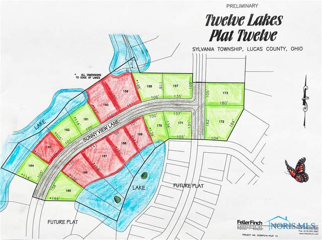 165 Bluewater Lane, Sylvania, OH 43560 (MLS #6073588) :: iLink Real Estate