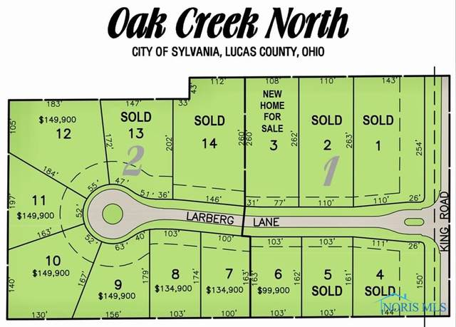7529 Larberg Lane, Sylvania, OH 43560 (MLS #6068164) :: CCR, Realtors