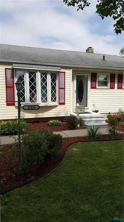 509 Lime City, Rossford, OH 43460 (MLS #6035616) :: RE/MAX Masters
