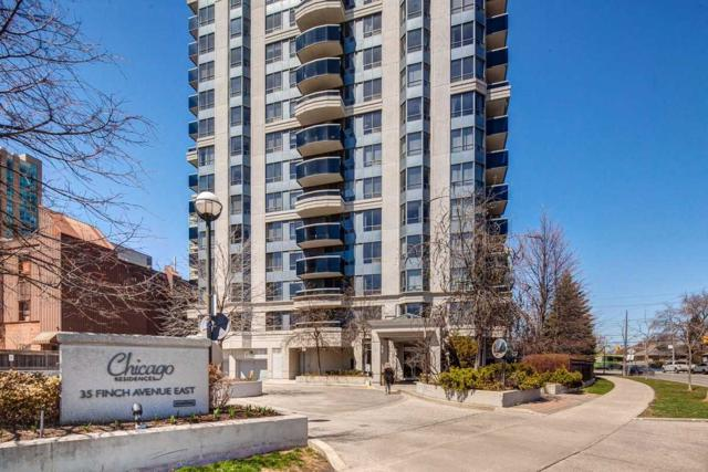 35 E Finch Ave #2107, Toronto, ON M2N 4P9 (#C4424855) :: Jacky Man | Remax Ultimate Realty Inc.
