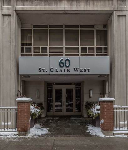 60 W St Clair Ave #1001, Toronto, ON M4V 1M7 (#C4704660) :: The Ramos Team