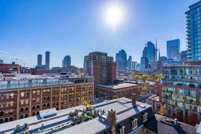 105 George St #807, Toronto, ON M5A 0L4 (MLS #C5057584) :: Forest Hill Real Estate Inc Brokerage Barrie Innisfil Orillia