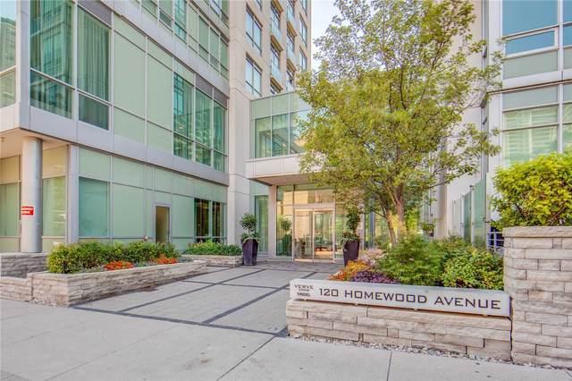 120 Homewood Ave #1709, Toronto, ON M4Y 2J3 (#C5088761) :: The Johnson Team