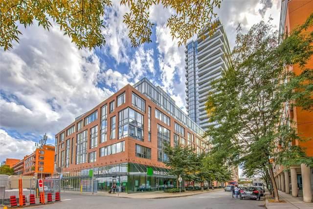 3 Market St #314, Toronto, ON M5A 0A3 (#C5126888) :: The Johnson Team