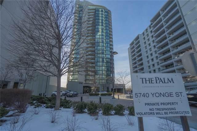 5740 Yonge St #705, Toronto, ON M2M 0B1 (#C5127033) :: The Johnson Team