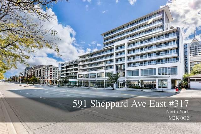 591 E Sheppard Ave #317, Toronto, ON M2K 1B4 (MLS #C5137583) :: Forest Hill Real Estate Inc Brokerage Barrie Innisfil Orillia