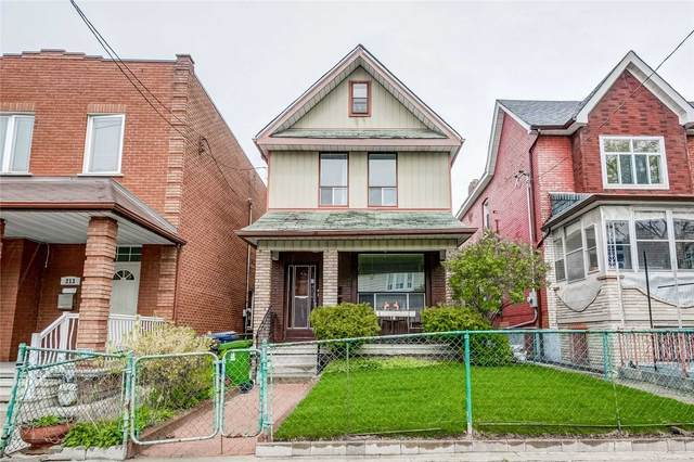 211 St Helen's Ave, Toronto, ON M6H 4A2 (#C5222996) :: The Ramos Team
