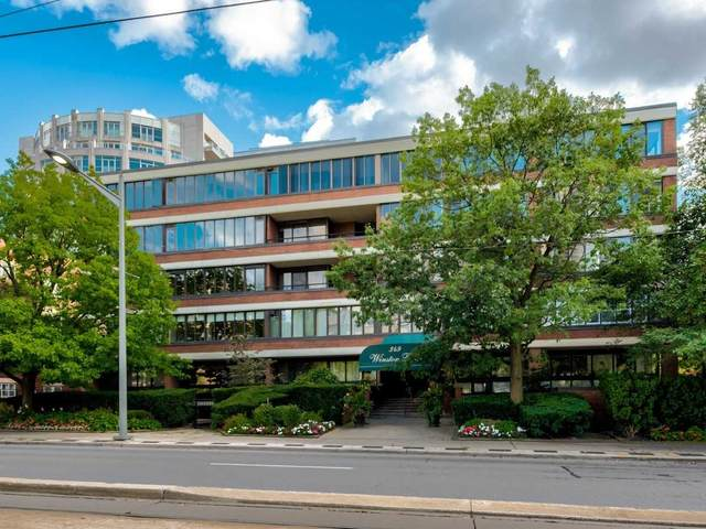 349 W St Clair Ave #403, Toronto, ON M5P 1N3 (#C5400200) :: Royal Lepage Connect