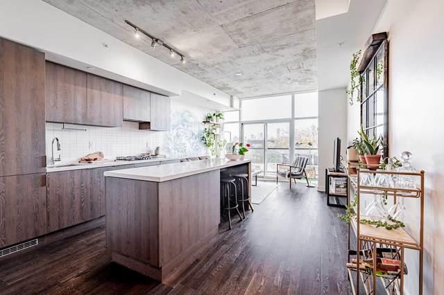 109 Ossington Ave #518, Toronto, ON M6J 2Z2 (#C5407831) :: Royal Lepage Connect