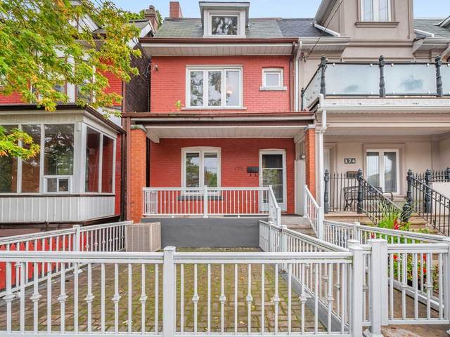 172 Bellwoods Ave, Toronto, ON M6J 2P4 (#C5408708) :: Royal Lepage Connect