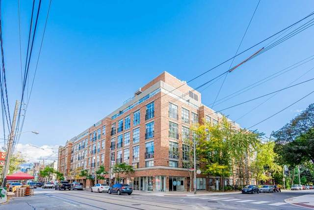 955 W Queen St #505, Toronto, ON M6J 1G9 (#C5408920) :: Royal Lepage Connect