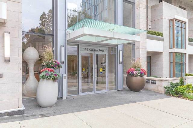 170 Avenue Rd #606, Toronto, ON M5R 0A4 (#C5411008) :: Royal Lepage Connect